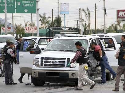 La violencia relacionada con el narcotráfico en México ha dejado desde 2006 más de 50.000 muertos aunque algunas organizaciones no gubernamentales elevan esa cifra hasta los 65.000. Foto: Getty Images
