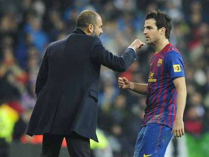 Pep Guardiola felt most betrayed by his own signing Cesc Fabregas.  Foto: Getty Images