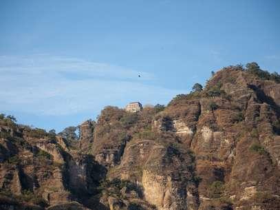 Hasta la fecha permanece grabada la imagen de la bruja en las rocas del Tepozteco. Foto: Thinkstock.com