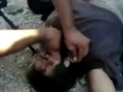 La imagen es de un video grabado en julio y subido a YouTube el 3 de noviembre de 2012, según reporta la agencia AFP Foto: AFP/YOUTUBE