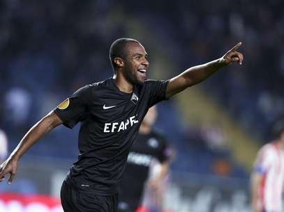 Con dos goles de Eduardo, el Académica derrotó al Atlético de Madrid en Coimbra. Foto: Efe