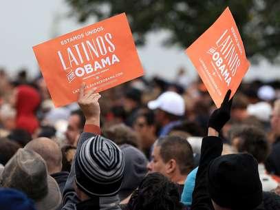 Obama tuvo un masivo apoyo de los hispanos en las elecciones del martes. Foto: Getty Images