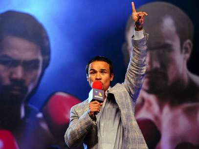El mexicano señaló que se está preparando a tope para vencer al filipino de forma holgada. Foto: Mexsport