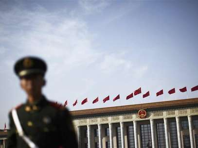 The Great Hall of the People, the venue of the 18th National Congress of the Communist Party of China, is pictured in Beijing, November 9, 2012. Foto: Petar Kujundzic / Reuters
