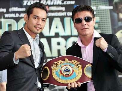 El filipino y el mexicano se dicen listos para la batalla del próximo 15 de diciembre. Foto: Cortesía Top Rank/Chris Farina