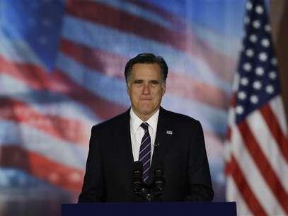 Mitt Romney desapareció de la escena pública. Foto: AP