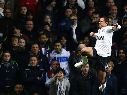 Chicharito ingresó de cambio al minuto 46. Foto: Reuters