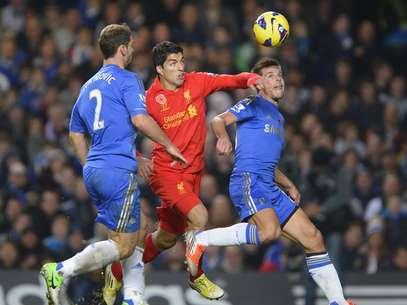 Suárez consiguió el empate para el Liverpool Foto: Reuters