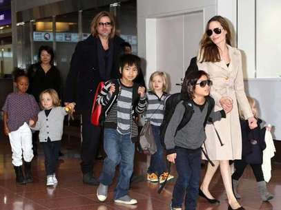 La familia de Angelina ya hizo su pedido para Navidad Foto: AP