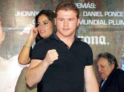 Saúl 'Canelo' Álvarez, boxeador mexicano Foto: Mexsport