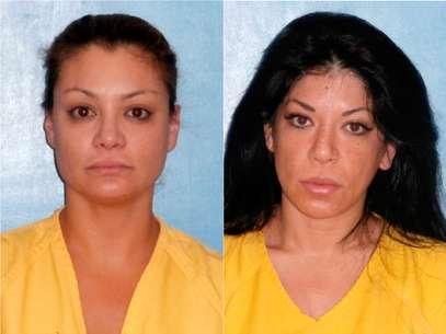 Marisol y Virginia Terrazas lamentaron que las fotos de su fichaje se filtraran a los medios de información. Foto: AP