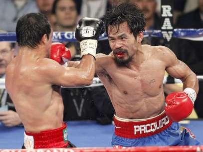 Pacquiao derrotó al mexicano en la última pelea que sostuvieron. Foto: AP