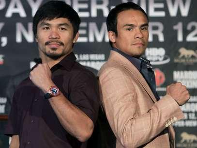 Pacquiao y Márquez pelearán por cuarta ocasión el próximo 8 de diciembre. Foto: AP