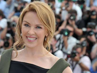 Kylie Minogue estuvo con Jean-Claude Van Damme. Foto: Getty images.