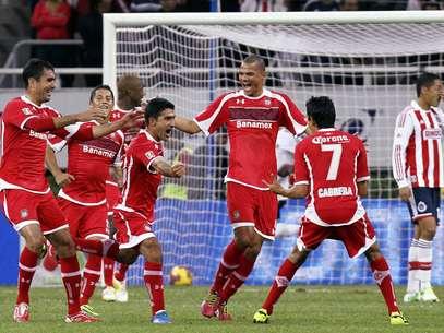 Toluca vence a Chivas. Foto: Mexsport