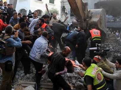 En otros ataques murieron un hombre en Chejaiya, un barrio del este de la Gaza, y otros dos en Jabalia, en el norte del territorio palestino, precisaron los servicios de ambulancias de Gaza. Foto: Getty Images