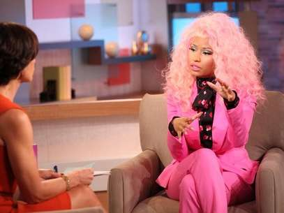 Nicki Minaj on the set of GMA on November 20, 2012 Foto: ABC