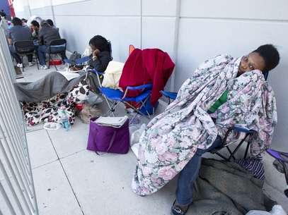 El adelanto de la campaña navideña  invade Acción de Gracias Foto: AP