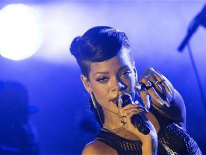 Singer Rihanna performs during a concert as part of her 777 tour in Berlin, November 18, 2012. Foto: Thomas Peter / Reuters