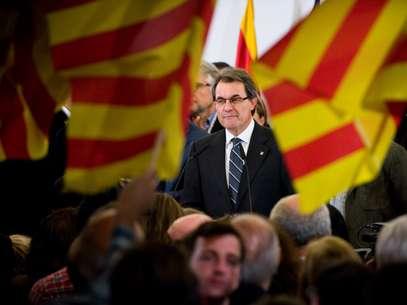 Artur Mas reclamaba una mayoría absoluta para llevar adelante su proyecto de referéndum de autodeterminación. Foto: Getty Images