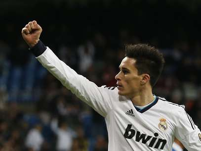 Jose Callejon celebrates one of his two goals in the Copa del Rey.  Foto: Reuters In English