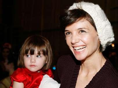 Katie Holmes pasará la Navidad con Suri Foto: Getty Images