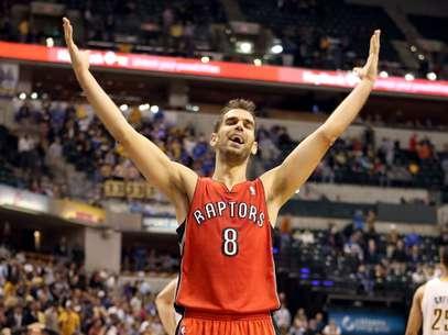 El base español de Toronto Raptors, José Manuel Calderón  Foto: Getty Images