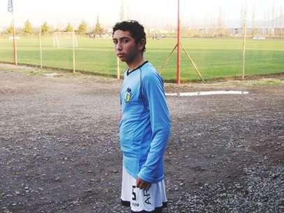 Cristian Cuevas tiene 17 años y es lateral izquierdo. Foto: Gentileza club O'Higgins