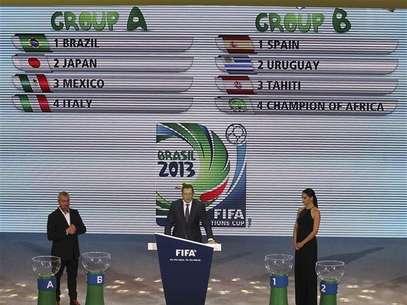 Brasil y Uruguay iban a quedar en el mismo grupo por una confusión. Foto: Reuters