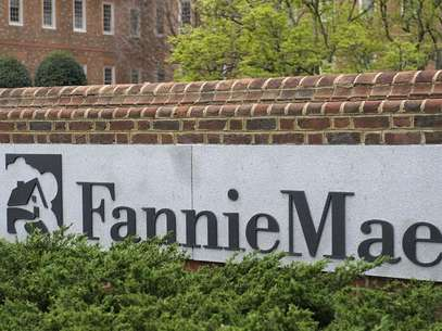 A view shows the Fannie Mae logo at its headquarters in Washington March 30, 2012. Foto: Jonathan Ernst / Reuters
