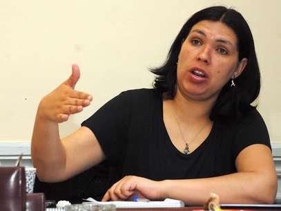 Bárbara Figueroa, presidenta de la CUT Foto: Agencias