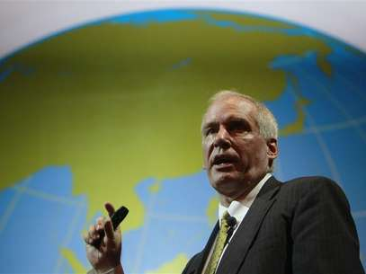Boston Fed President Eric Rosengren speaks during the Sasin Bangkok Forum July 9, 2012. Foto: Sukree Sukplang / Reuters