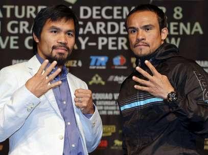 Fuera del ring, surgió la polémica entre Manny Pacquiao y Juan Manuel Márquez. Foto: AP