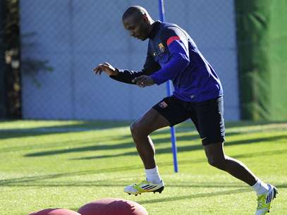 Months after a liver transplant, Eric Abidal has been cleared to play again for Barcelona. Foto: Getty Images