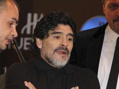 Maradona no será el seleccionador de Irak Foto: Agencia EFE / © EFE 2012. Está expresamente prohibida la redistribución y la redifusión de todo o parte de los contenidos de los servicios de Efe, sin previo y expreso consentimiento de la Agencia EFE S.A.