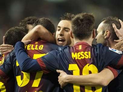 Barcelona cerró el año con 49 de 51 puntos desde el inicio del campeonato. Foto: Getty Images