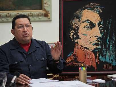 Hugo Chávez es tratado por el cáncer en Venezuela.  Foto: Getty Images