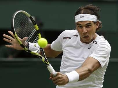 Nadal se retiró del torneo por una infección estomacal. Foto: AP
