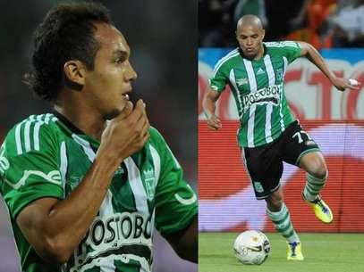 Jonathan Álvarez y Diego Álvarez, nuevos refuerzos del Junior de Barranquilla. Foto: Terra