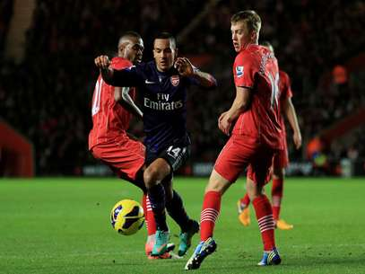 Arsenal struggled to get a tie with Southampton.  Foto: Getty Images