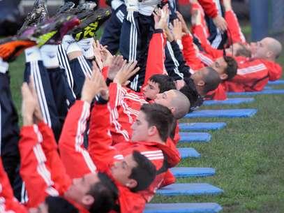 Calentando motores: los equipos de Primera empiezan sus trabajos físicos de cara al Torneo Final Foto: Télam