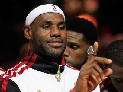 James también fue el mejor jugador de diciembre en la NBA. Foto: Getty Images