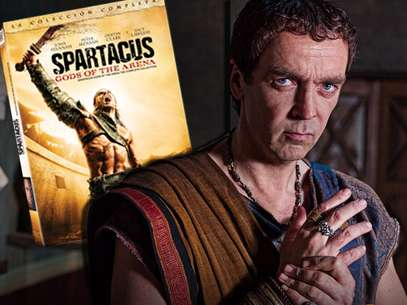 La temporada completa de 'Spartacus: Dioses de la Arena', ahora disponible en DVD. Foto: Twentieth Century Fox Home Entertainment