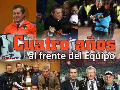 Vucetich ha logrado cuatro campeonatos con Rayados Foto: Mexsport/Rayados.com / Terra Networks México S.A. de C.V.