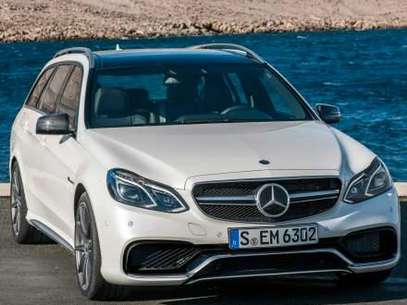 Mercedes-Benz E63 AMG S-Model 4MATIC Wagon 2014 Foto: Mercedes-Benz