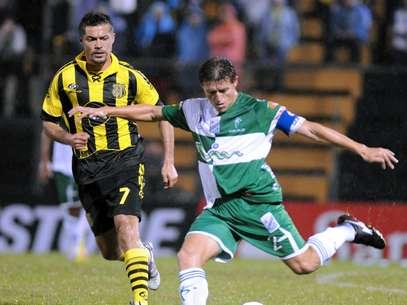 Dante López es alternativa para llegar a reforzar el ataque del Deportivo Cali Foto: AFP