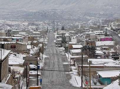Así luce Ciudad Juárez, en el norteño estado de Chihuahua. Foto: Getty Images