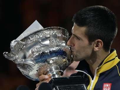 El tenista serbio ya hizo historia en el Abierto de Australia. Foto: AP Images