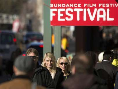 Pedestrians walk down Main street during the Sundance Film Festival in Park City, Utah, January 20, 2013. Foto: Lucas Jackson / Reuters