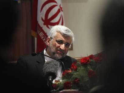 Saeed Jalili listens to a reporters' question during a news conference in New Delhi January 4, 2013. Foto: Mansi Thapliyal / Reuters